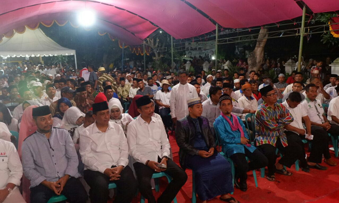 Ustad Nur Maulana Ajak Rakyat Wajo Bersatu Dukung PAMMASE