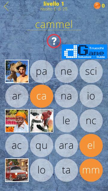 650 Parole soluzione livello 1 (1 - 25) | Parola e foto
