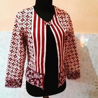 Bolero Batik Yang Trendi Dan Masa Kini