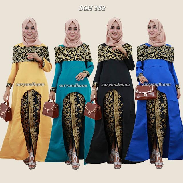 model baju batik terbaru cewek