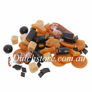 Dutch licorice and Dutch food online