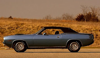 1970 Plymouth Barracuda 340 Coupe Convertible Side