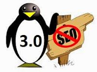 Rilis algoritma penguin 3.0 sabtu oktober 2014