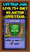 Life Trap - Wizard101 Card-Giving Jewel Guide