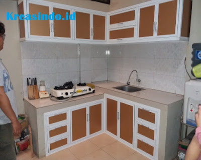 Daftar Harga Kitchen Set Alumunium dan model Terbaru