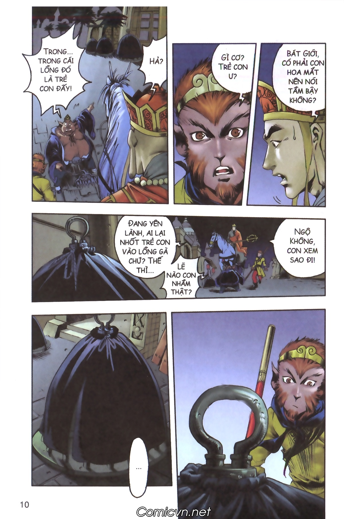 Tây Du Ký màu - Chapter 129 - Pic 8