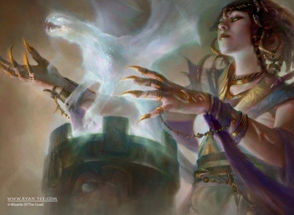 Ryan Yee deviantart ilustrações fantasia magia card games magic the gathering