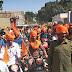 नीमकाथाना में पहली बार निकली राजपूत समाज की शोभायात्रा