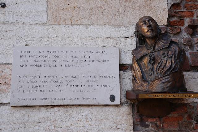 Shakespeare Verona Italia