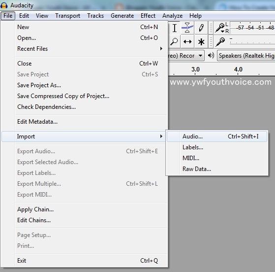 how to make vocals deeper audacity