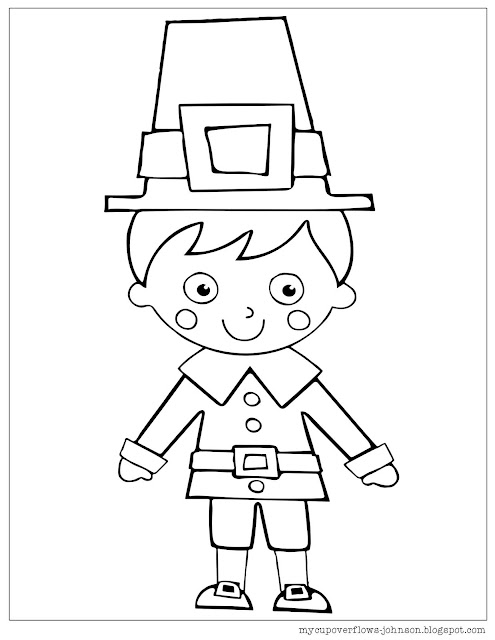 free coloring pages for Thanksgiving