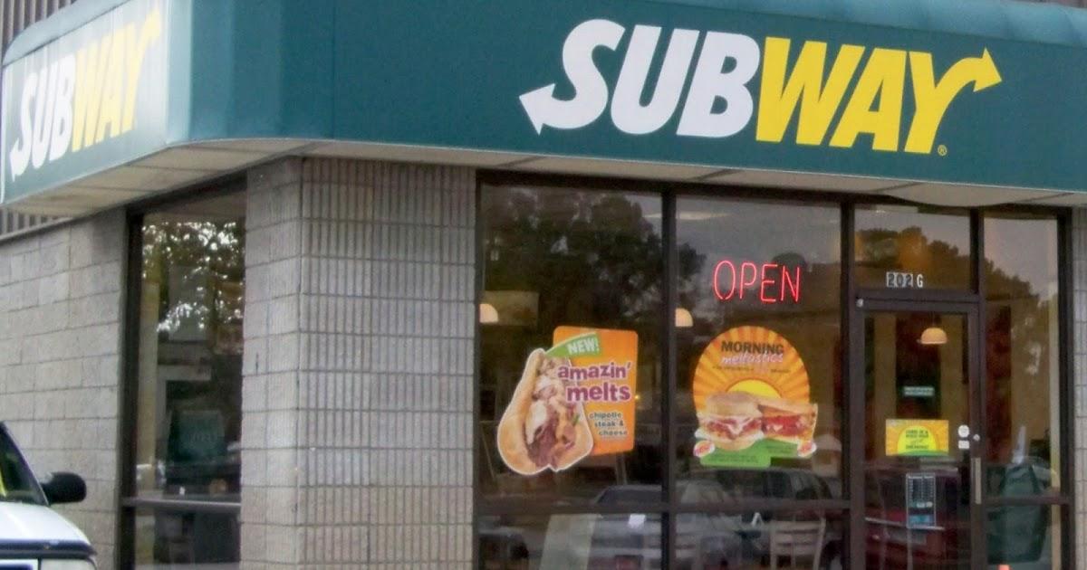 Fast Food Subway Fire