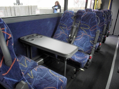 Youve Been Reviewed: Blogging from a double decker Megabus ...