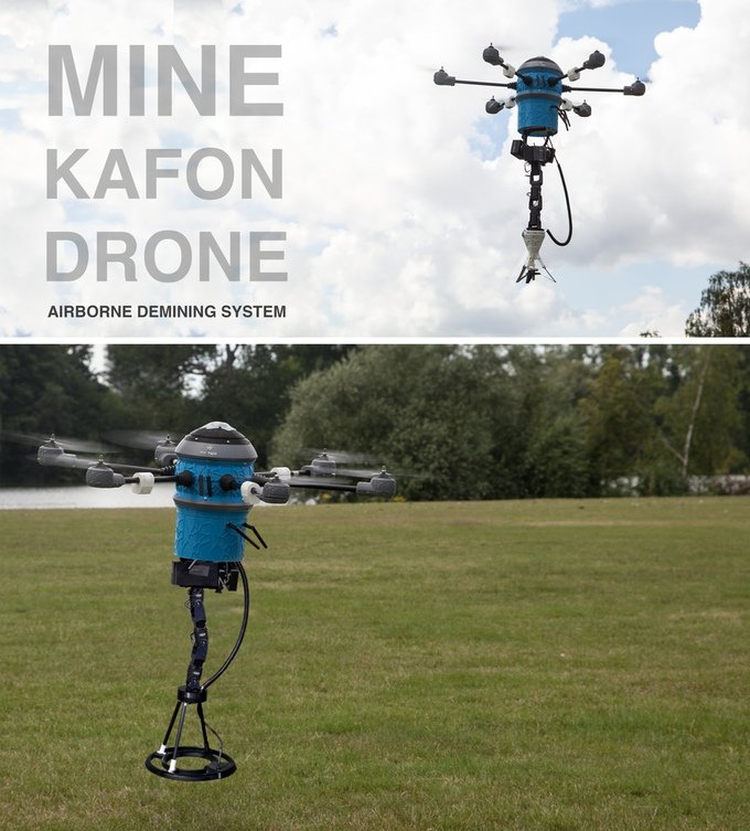 DRONE DEMINING TECHNOLOGY
