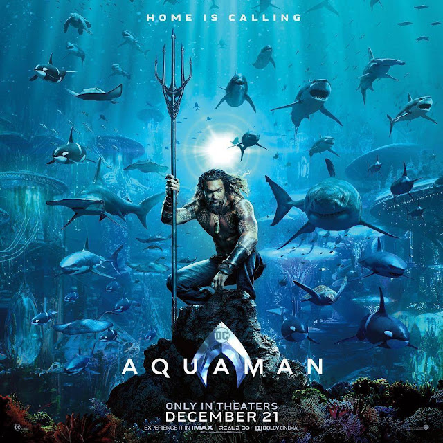 """""""Aquaman"""" - Movie Poster"""