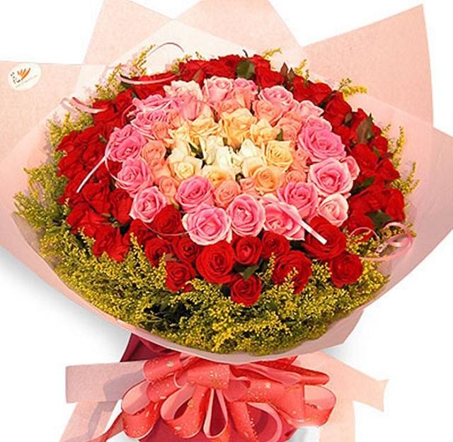 Bó hoa hồng đỏ đẹp nhất thế giới 12
