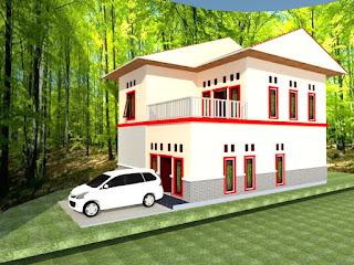 desain dan konstruksi bangunan : rumah berbagai unit dan