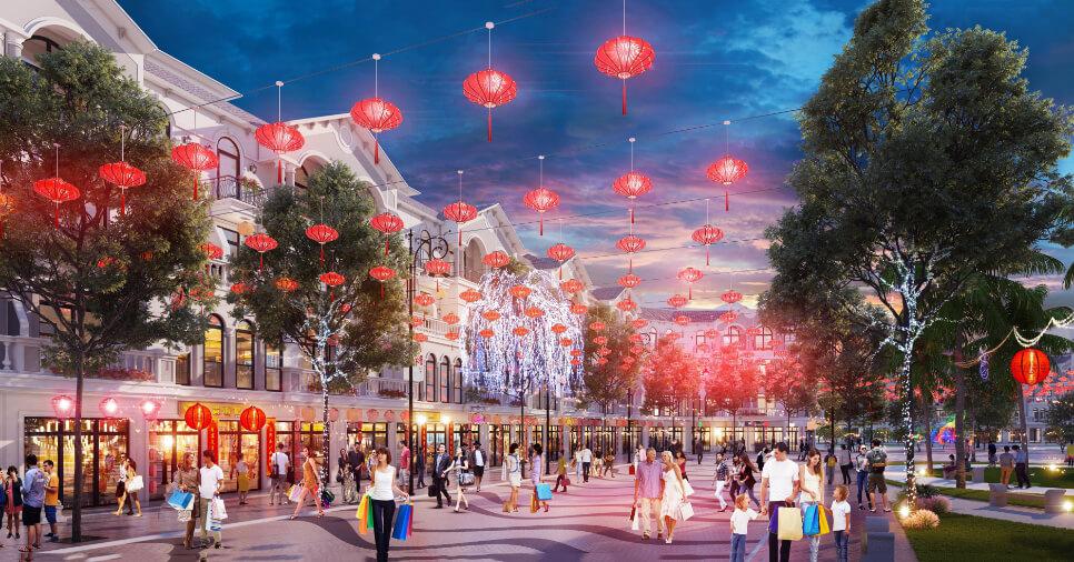 Phối cảnh dự án Shoptel Vinpearl Phú Quốc
