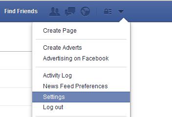 mudar idioma facebook