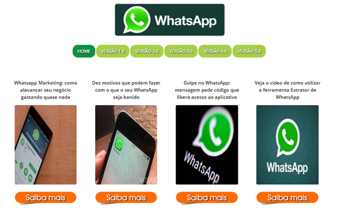 Sistema para extrair e disparar WhatsApp Segmentados