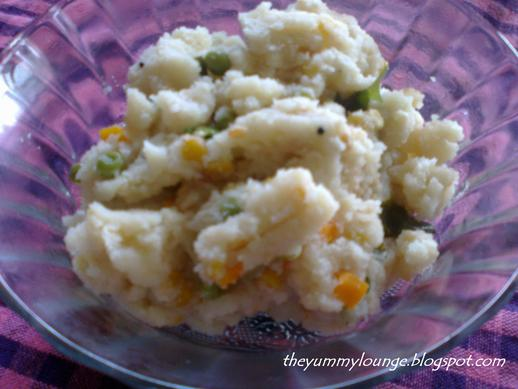 How to Make Easy South Indian Breakfast Rawa Upma Recipe
