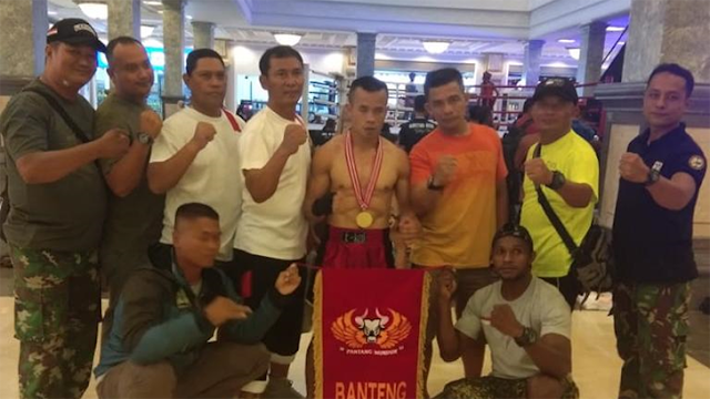 Prajurit Diponegoro Borong Medali Emas Kejuaraan Kick Boxing Bupati Sleman Cup 2019