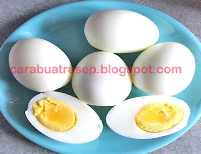Foto Resep Telur Rebus Matang Sempurna Sederhana Spesial Asli Enak