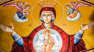 والدة الاله القديسة العذراء مريم
