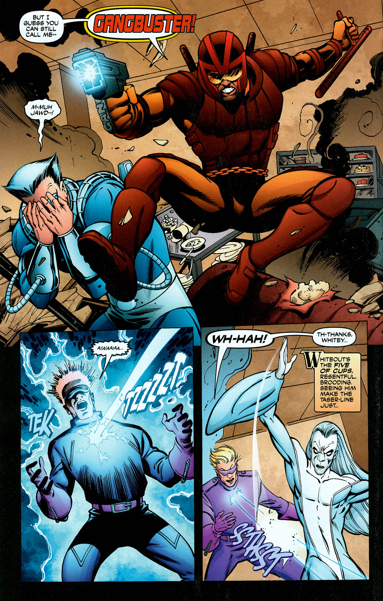 Read online Trinity (2008) comic -  Issue #5 - 27