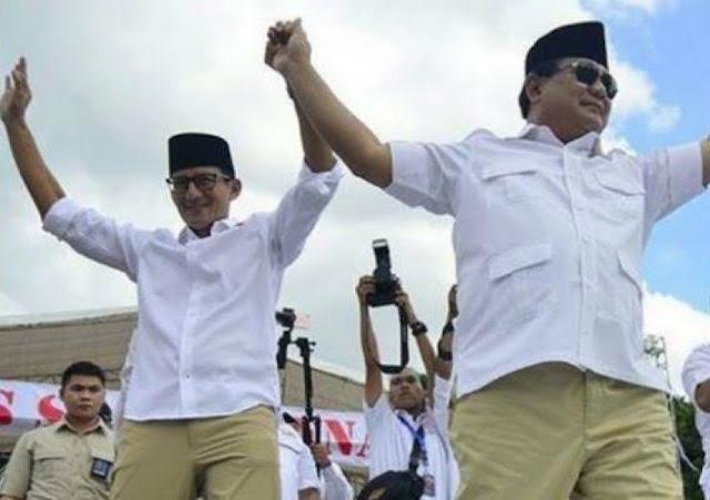 Di Agam, Suara Prabowo- Sandi Melambung Tinggi