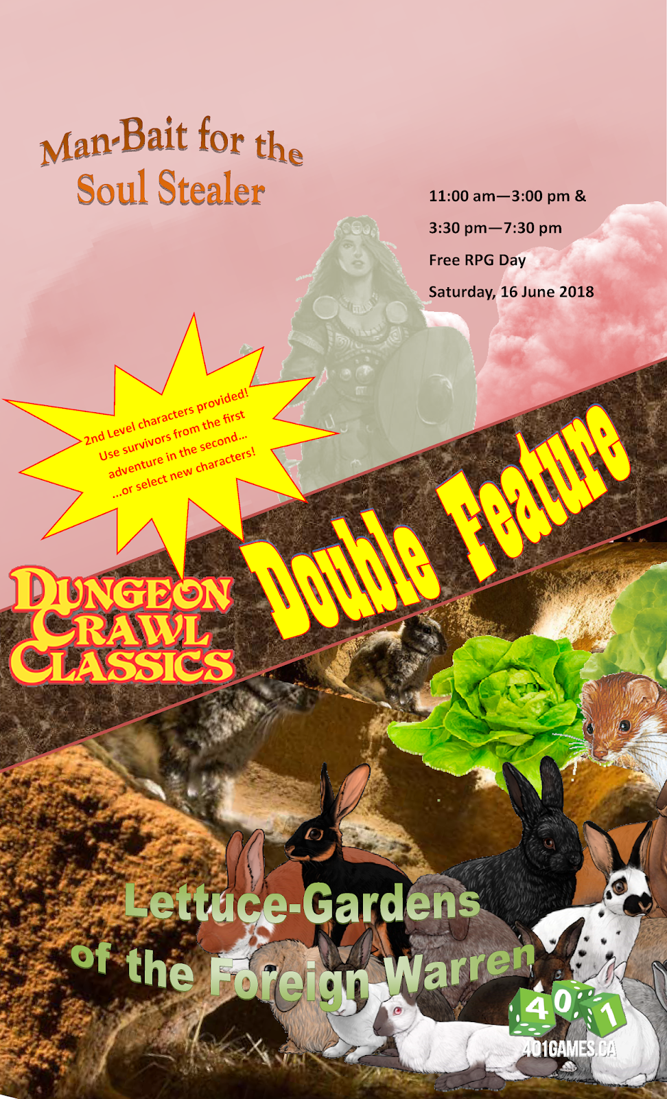 Raven Crowking's Nest: Free RPG Day Double Feature
