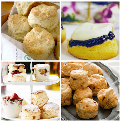 recipe scones biscuits high tea afternoon savoury sweet treat