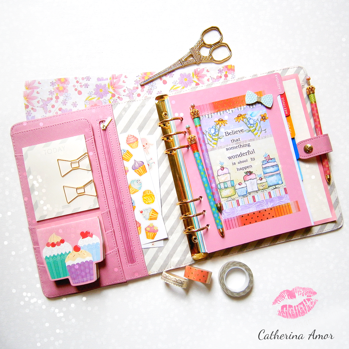 Kikki K Bubblegum Pink Planner
