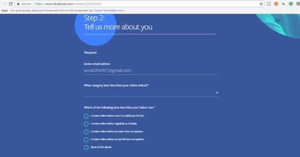 شرح خطوات الاشتراك في منشئ المحتوى في الفيس بوك 2018 والربح من تسجيل ورفع الفيديوهات