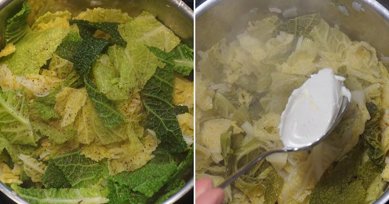 Weißkraut zubereiten