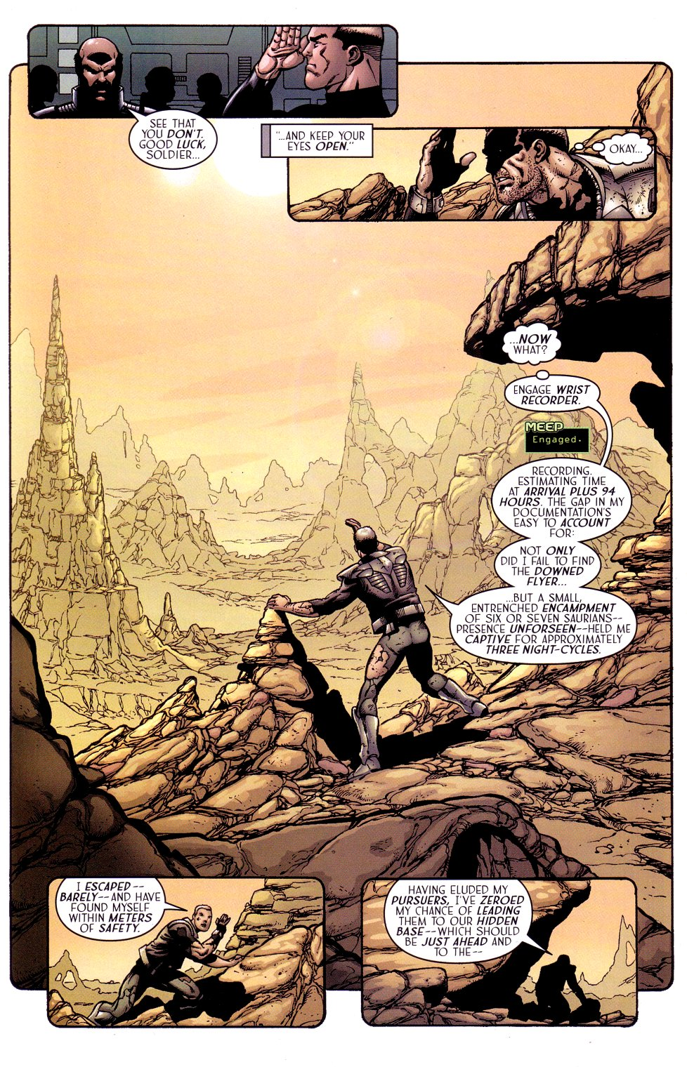 Read online Sigil (2000) comic -  Issue #15 - 9
