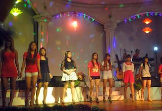 Dancing at Power light Yangon