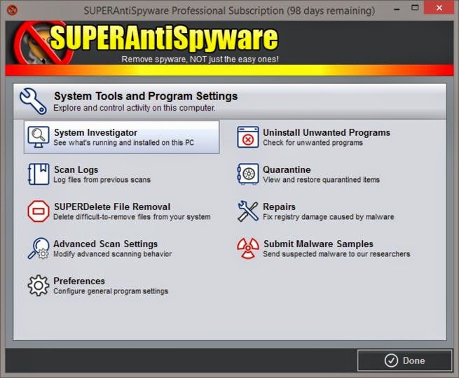 Download Free SUPERAntiSpyware