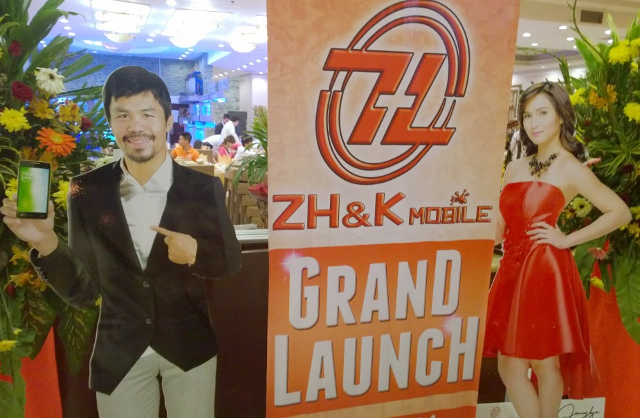 ZH&K Mobile, Manny Pacquiao