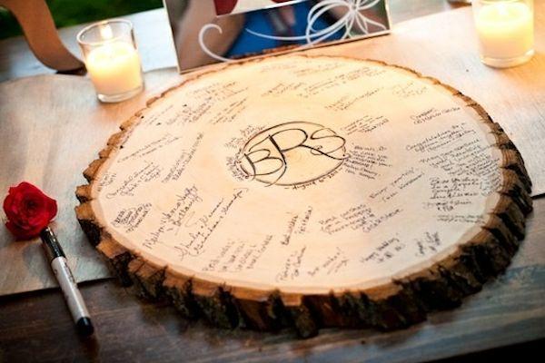 Lines Across: 20 Creative Guest Book Ideas For A DIY Wedding