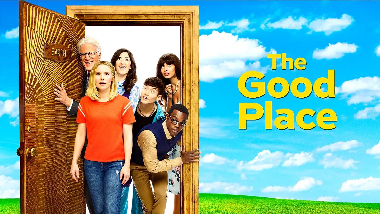 Poster de la tercera temporada de The Good Place