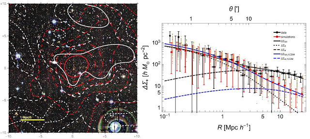 One of the densest clusters of galaxies in the universe is revealed
