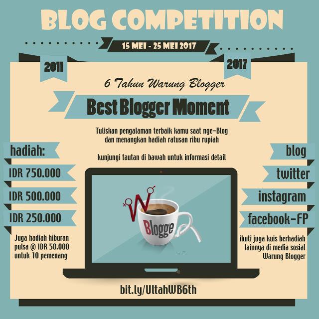 ulang tahun ke-6 tahun Warung Blogger