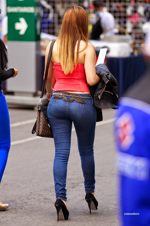 Culona de jeans gris - 3 part 3