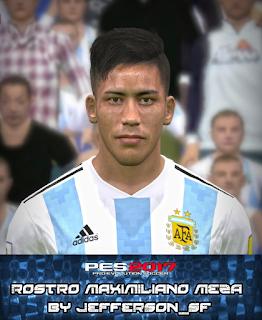 PES 2017 Faces Maximiliano Meza by FaceEditor Jefferson_SF
