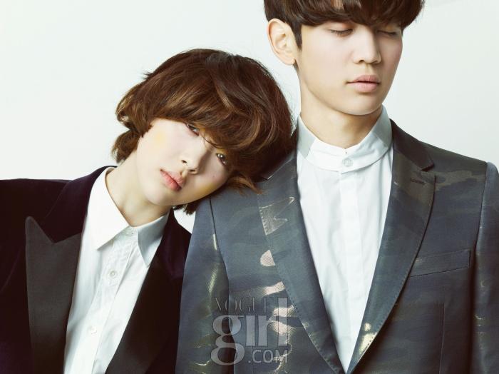 K-POP: Sulli & Minho (Photoshoot) August 2012