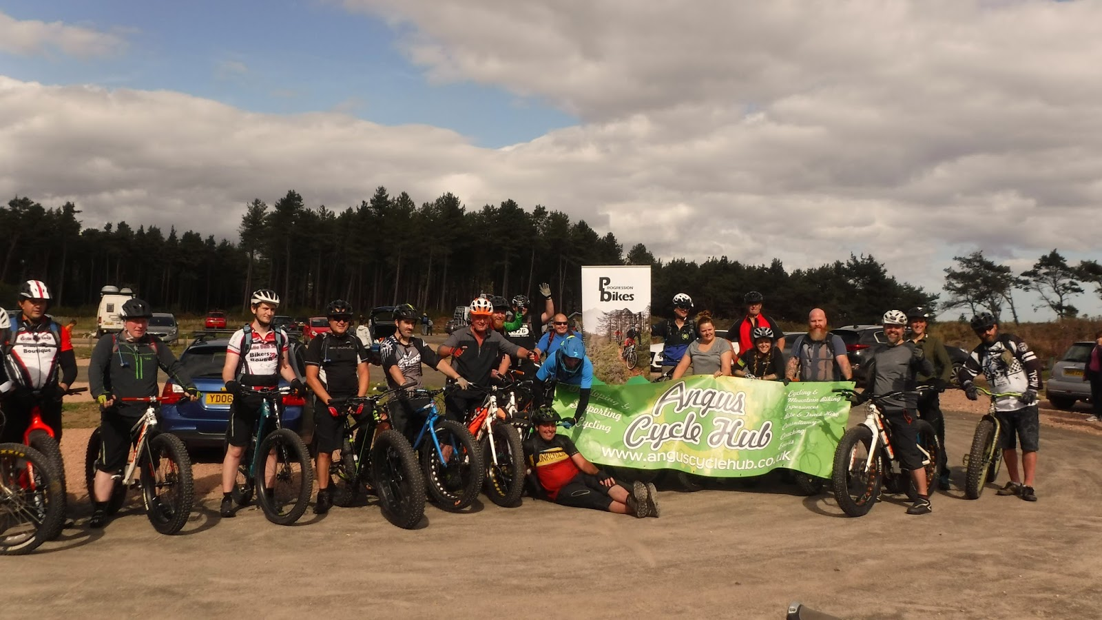 Angus Cycling Festival Fatbike ride; Tentsmuir Forest 11th September 2016 & coastrider: Angus Cycling Festival Fatbike ride; Tentsmuir Forest ...