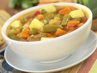 Como prepara una sopa de verduras rapido y facil