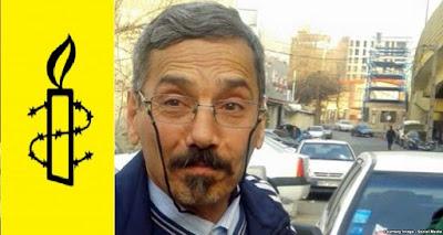 درخواست عفو بینالمللی برای آزادی فوری عبدالفتاح سلطانی