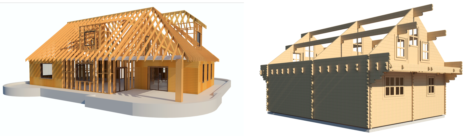 "Revit Add-Ons: Wood Framing Wall+ – ""The Ultimate Timber Wall Software"""